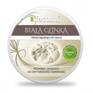 Glinka Biała Kaolin - rozjaśnia i wygładza