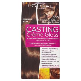 L'Oréal Paris Casting Crème Gloss Farba do włosów 635 Czekoladowy Cukierek